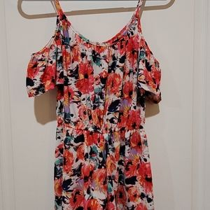 One Clothing A Beautiful Floral Romper